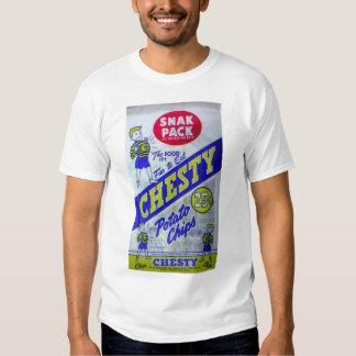 Camisa arrogante de las patatas fritas