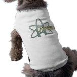 Camisa atea del perro (del símbolo ateo americano) prenda mascota