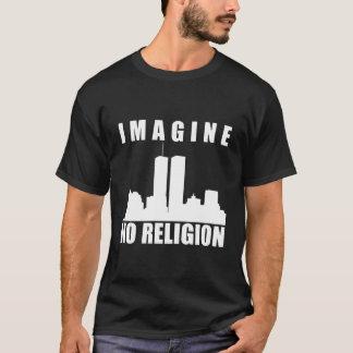 Camisa atea. No se imagine ninguna religión