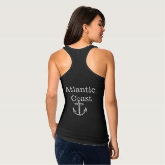 Camisa atlántica de Canadá del ancla de la costa