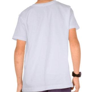 Camisa azul brillante de la juventud del lagarto
