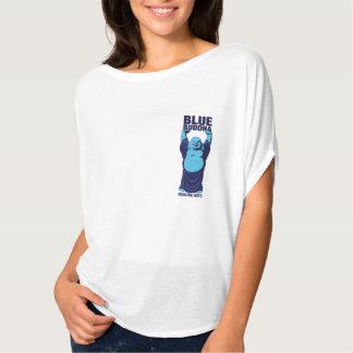 Camisa azul de los artes curativos de Buda