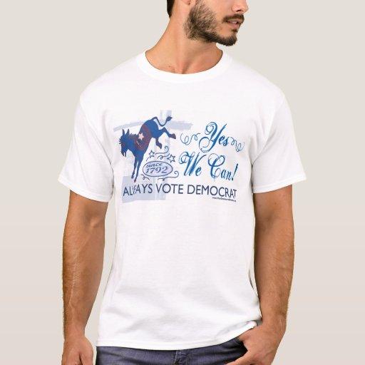 Camisa azul del retroceso del burro