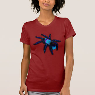 Camisa azul grande de la araña