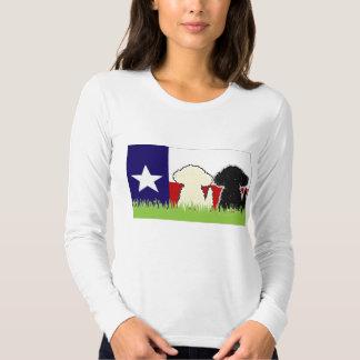 Camisa b/w del doodle de TDD dos
