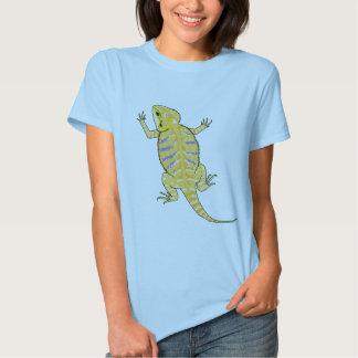 Camisa barbuda del dragón (colores claros)