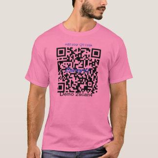 Camisa básica con su código de QR