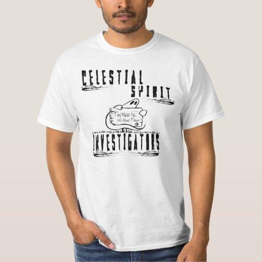 Camisa básica de los investigadores celestiales
