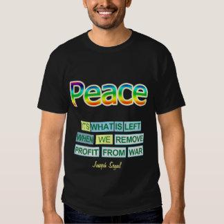 Camisa bilateral de la PAZ de José Segal