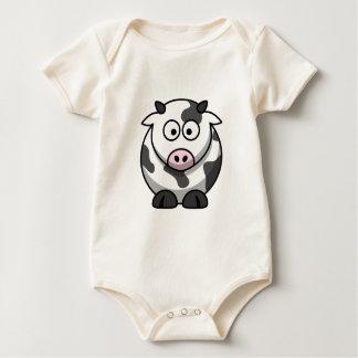 Camisa bilateral de la vaca linda