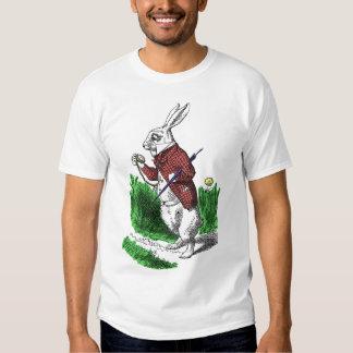 Camisa blanca del conejo