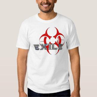 Camisa blanca del EXILIO