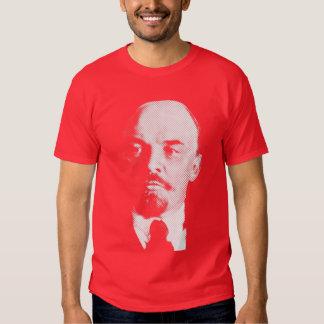 Camisa blanca del retrato de Vladimir Ilyich Lenin