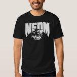 Camisa blanco y negro de NEDM