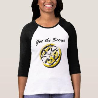 Camisa blanco y negro del béisbol del compás inter