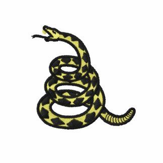 Camisa bordada bandera de Gadsden Camiseta Polo Bordada