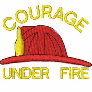 Camisa bordada bombero polo