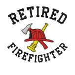 Camisa bordada bombero jubilada