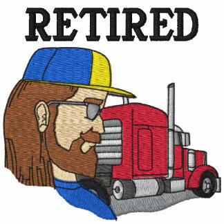 Camisa bordada camionero jubilada