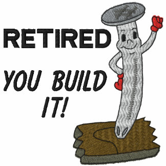 Camisa bordada carpintero jubilada