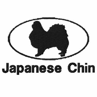 Camisa bordada Chin oval del japonés