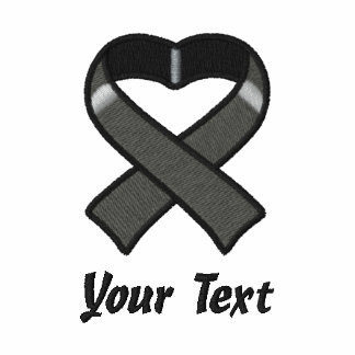 Camisa bordada cinta negra sudadera con serigrafía