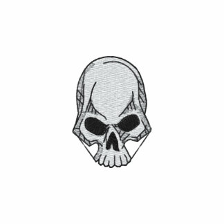 Camisa bordada cráneo