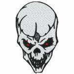 Camisa bordada cráneo de encargo polo bordado