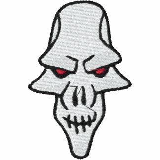 Camisa bordada cráneo malvado