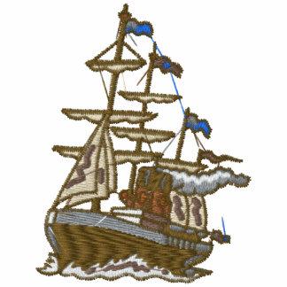 Camisa bordada de encargo del velero camiseta polo