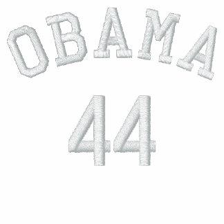 Camisa bordada de Obama 44 Chaqueta