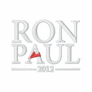 Camisa bordada de Ron Paul 2012 Sudadera Con Capucha