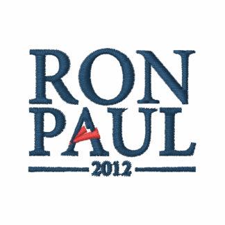 Camisa bordada de Ron Paul 2012 Sudadera Bordada Con Serigrafia