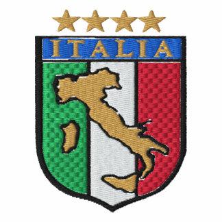 Camisa bordada del fútbol de Italia para las fans