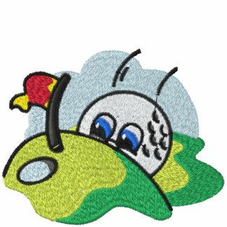 Camisa bordada del juego de golf polo bordado