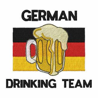 Camisa bordada equipo de consumición alemana polo bordado