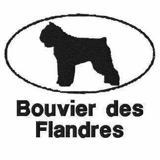 Camisa bordada Flandres oval del DES de Bouvier