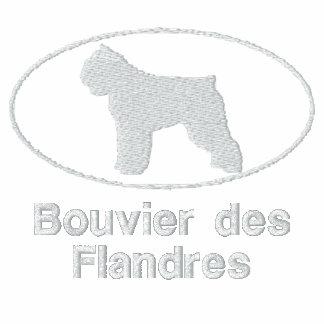 Camisa bordada Flandres oval del DES de Bouvier (c