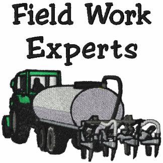 Camisa bordada granjero de los expertos del trabaj
