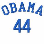 Camisa bordada hilo azul de Obama 44 Chaqueta