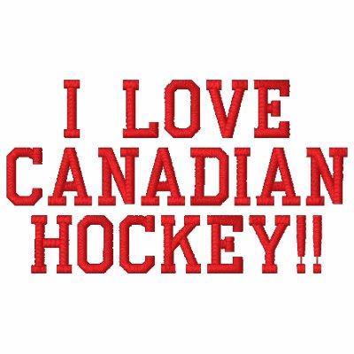 Camisa bordada hockey canadiense camiseta polo