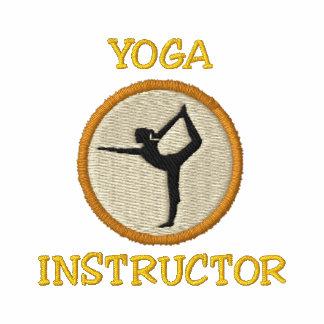 Camisa bordada instructor de la yoga
