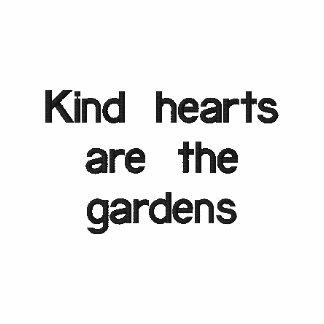 Camisa bordada jardín de la amabilidad