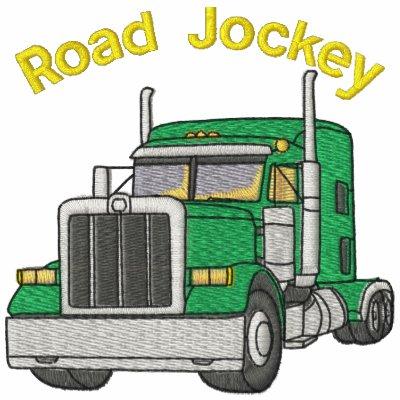 Camisa bordada jinete del camino de los camioneros
