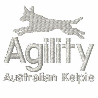 Camisa bordada Kelpie australiano de la agilidad