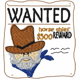 Camisa bordada ladrón querida del caballo
