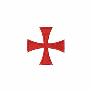 Camisa bordada manga larga de Templar de los