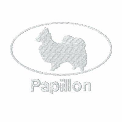 Camisa bordada Papillon oval