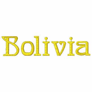 Camisa bordada patriótica del diseñador de BOLIVIA