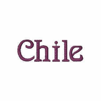 Camisa bordada patriótica del diseñador de CHILE
